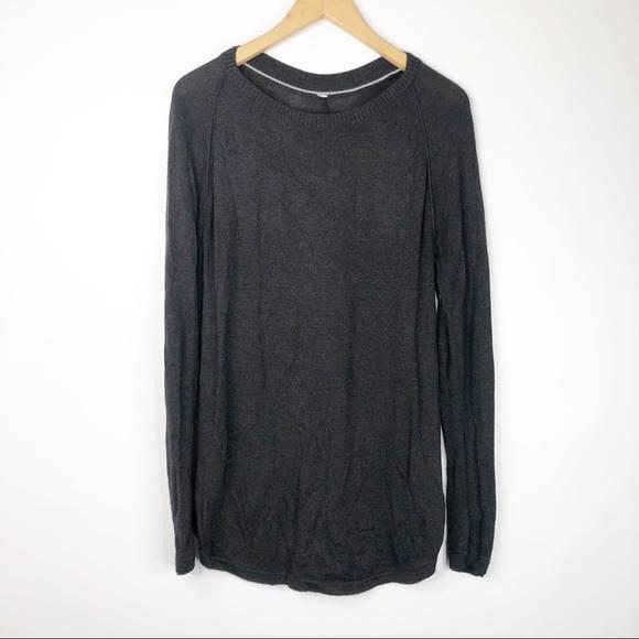 Lululemon Charcoal Sunshine Coast Be Bold Sweater